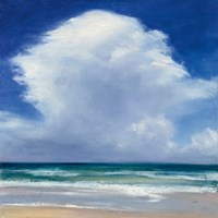 Beach Clouds II Fine Art Print