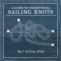 Vintage Sailing Knots VIII Fine Art Print