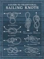 Vintage Sailing Knots I Fine Art Print