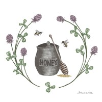 Happy to Bee Home IV Fine Art Print