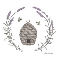 Happy to Bee Home II Fine Art Print