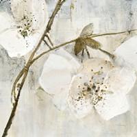 Elegance II Greige Fine Art Print