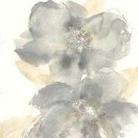 Floral Gray II Fine Art Print