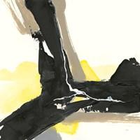 Black and Yellow III Fine Art Print