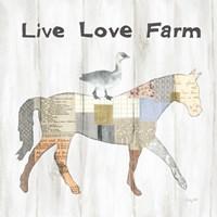 Farm Family V Fine Art Print