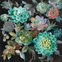 Floral Succulents Fine Art Print