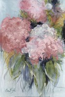 Pink Hydrangeas Fine Art Print