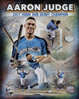 Aaron Judge 2017 Home Run Derby Champion Composite  88th MLB All-Star Game Fine Art Print