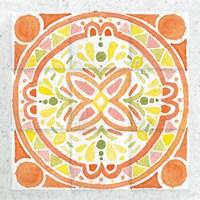 Citrus Tile I Fine Art Print