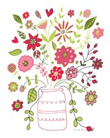 Valentines Flowers II Fine Art Print
