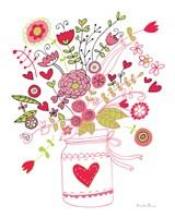 Valentines Flowers I Fine Art Print