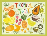Fruity Smoothie II Framed Print