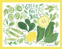 Fruity Smoothie III Framed Print