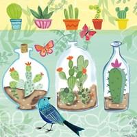 Cacti Garden I Fine Art Print