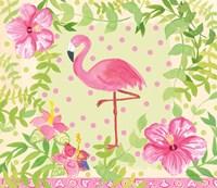 Flamingo Dance I Fine Art Print