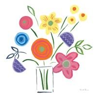 Floral Medley II Framed Print