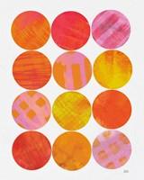 Kitchen Garden Dots I Fine Art Print