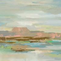 Spring Desert II v2 Framed Print