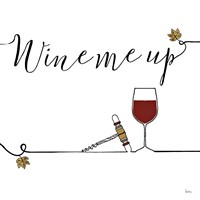 Underlined Wine VII Fine Art Print