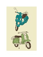 Scooter I Fine Art Print