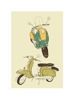 Scooter III Fine Art Print