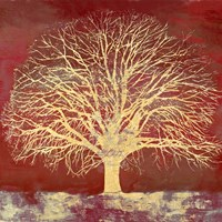 Crimson Oak Fine Art Print