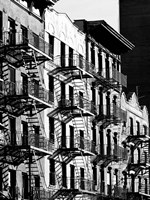 Fire Escapes in Manhattan, NYC Fine Art Print