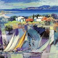 Racconto Mediterraneo (detail) Fine Art Print