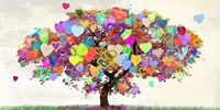 Tree of Love Fine Art Print