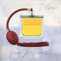I Love my Perfume Fine Art Print