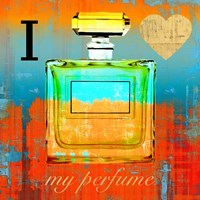 I Love my Perfume Fine Art Print