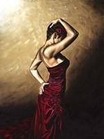 Flamenco Woman Fine Art Print