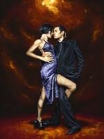 Held in Tango Framed Print