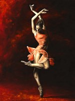 The Passion of Dance Fine Art Print