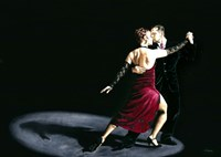 The Rhythm of Tango Fine Art Print