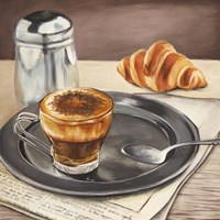 Espresso & News Fine Art Print