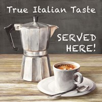 True Italian Taste Fine Art Print