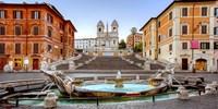 Piazza di Spagna, Roma Fine Art Print