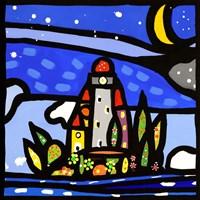 Isola e Luna (detail) Fine Art Print