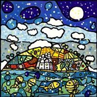 Isola dei Sogni Fine Art Print