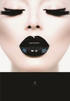 Black Lips Fine Art Print