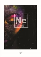 Neon Element Fine Art Print