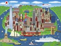 Dream Of New York Fine Art Print