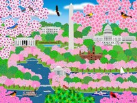Dream Of Washington DC Fine Art Print