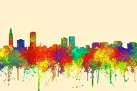 Baton Rouge Louisiana Skyline-SG Fine Art Print