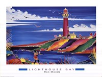 Lighthouse Bay Fine Art Print