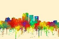 Louisville Kentucky Skyline-SG Fine Art Print