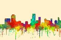 Newark New Jersey Skyline-SG Fine Art Print