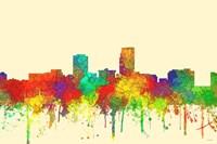 Omaha Nebraska Skyline-SG Fine Art Print