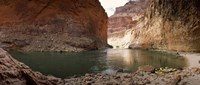 Kayakers in Colorado River, Grand Canyon National Park, Arizona Fine Art Print
